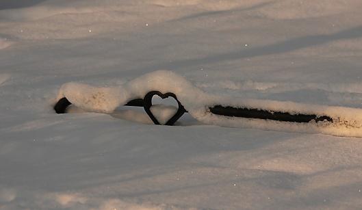 Snö-hjärta
